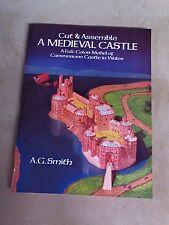 Cut & Assemble A Medieval Castle Full-Color Model of Caernarvon Castle in Wales