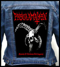 PROCLAMATION - Messiah of Darkness...  --- Huge Jacket Back Patch Backpatch