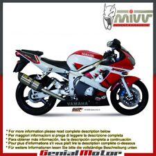 Terminale Scarico MIVV Suono Acciaio inox per Yamaha Yzf 600 R6 1999 > 2002
