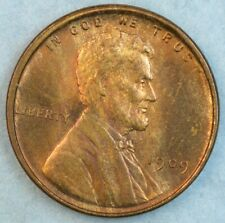 1909 VDB Lincoln Wheat Cent UNCIRCULATED BU UNC GEM FAST S&H 34044