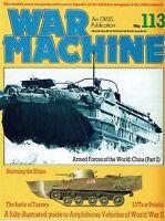 WAR MACHINE #113: WWII AMPHIBIANS/ CROSSING THE RHINE/ US LVT4/ PELELIU LANDINGS