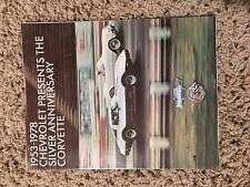 1958-1978 Silver Anniversary Corvette Showcase Pamphet