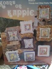 Florals & Other Pretty Things Kount On Kappie Cross Stitch Needlepoint 1981 Rare
