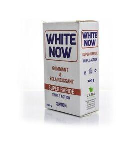 White Now Soap