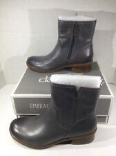 DANSKO Womens Bethanie Gray Leather Ankle Boots Shoes Sz 38 = 7.5 - 8 ZA-368