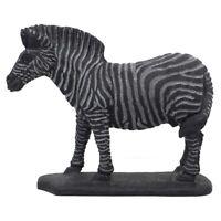 Horse Figurine Natural Gemstone Black Obsidian Carved Animal Statue Home Decor
