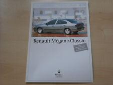 52207) Renault Megane Classic Prospekt 1997