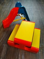 Little Tikes Vintage Doll House Figure People Playground Slide and Picnic Table