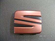 NEW GENUINE COPPER SEAT GRILLE BADGE LEON 17>, IBIZA, ARONA 18>  5F0853679C 27A