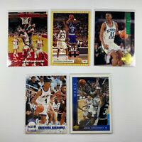 1993-94 NBA Anfernee Hardaway Rookie Card Set - Upper Deck, Topps, Hoops