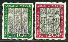 Bundespost  139 - 140 gebruikt