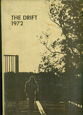 The Drift 1972 --Butler University, Indianapolis -- yearbook