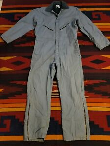 WALLS Zero-Zone Insulated Coveralls SIZE LARGE REGULAR Lined Gray outerwear