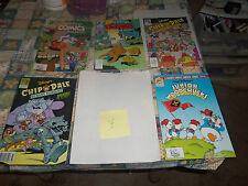 LOT # 27 5 WALT DISNEY COMICS