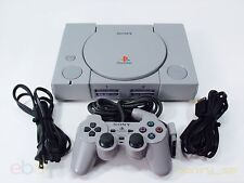 PlayStation 1 Bundle Complete + Sony Analog Controller+ All Hookups Ps1 7501
