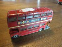 Corgi Toys London Routemaster Double Decker Bus Outspan Graphics