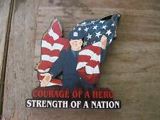 2001 Police Officers Courage Of A Hero Shelia Collectible-Remember September 11