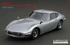 RARE! HPI #8369 Toyota 2000GT Thunder Silver Metallic 1/43 Resin Model JDM