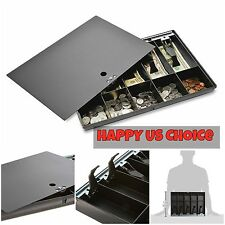 Money Tray Locking Cover Black Sparco 16 x 11 x 2-1/4 Inches Cash Drawer Metal