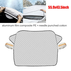 Car SUV Front Windshield Cover Sunshade Protector Snow Ice Rain Dust Frost Guard