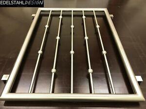 FGM-014 Edelstahl Fenstergitter Sicherheitstechnik Fenstersicherung Schutzgitter