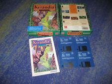 The Legend of Kyrandia: Book One - Westwood 1992 Erstausgabe Sammler PC DOS