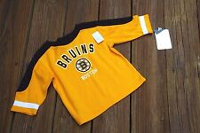 Boston Bruins Toddler 4T Jersey-like sweater new with tags