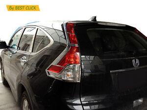 Chrome Rear Tail Light Lamp Surrounding Garnish Trim For Honda CRV RM 12-15