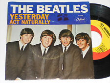 THE BEATLES Yesterday 45 Act Naturally Capitol 5498 Picture sleeve