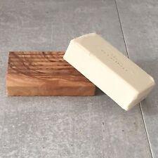 Seifenschale Olivenholz / Seifenablage / Seifenhalter, geriffelt , Handarbeit