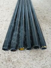 "New Listing6 Rod Building Wrapping Vintage Black fiber glass blanks 76-77"" Sabre? Conolon"
