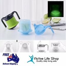 Feeding / Drinking Cup Adult Handle Lid and Spout No spill Living Aid BPA FREE