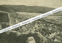 Staufen im Breisgau - Blick auf die Stadt - um 1935     S 24-22