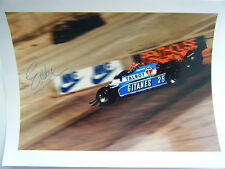 Eddie Cheever - Talbot Ligier Gitanes Matra JS 17 b signed Formula 1 from 1982