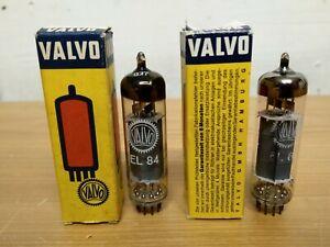 2x Röhre EL84 Valvo 1x NOS 1x gebraucht für Röhrenverstärker