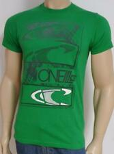 O'Neill Surfing Triple Wave Tee Green T-Shirt New NWT Mens Small