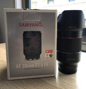 Samyang 35mm F1.4 AF FE Full-frame Lens For Sony Mirrorless (As New)