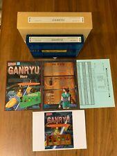 Neo Geo Mvs Full kit Ganryu Like New Rare Kit 100% Musashi Ganryuki Promo Price