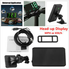Digital Car GPS Signal Speedometer Speed Display KM/h MPH For Bicycle Motorcycle