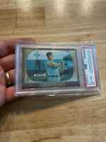 MICKEY MANTLE PSA 8 Topps #5 New York Yankees Babe Ruth 1996 Bowman Gorgeous NR