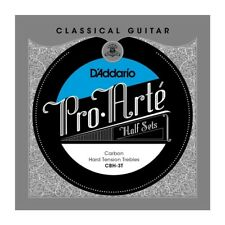D'Addario CBH-3T Half Set Pro-Arte Carbon Trebles Hard Tension