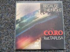 Co.Ro feat. Taleesa - Because the night 7'' Single Germany [Patti Smith]