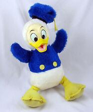 Donald Duck Vintage Plush Toy Walt Disney California Stuffed Animal Rubber Face