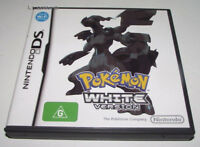 Pokemon White Version Nintendo DS 2DS 3DS Game *No Manual*