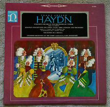 Franz Joseph Haydn Concerto for Organ Orchestra Eva Holderlin Nonesuch H-71024