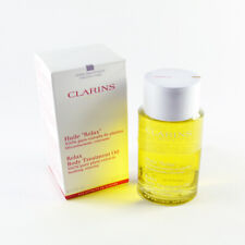 Clarins Relax Body Treatment Oil 100% Pure Plant Extract - Size 100mL / 3.4 Oz.