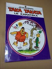 "BD ""TAKA TAKATA - LE KARATEKA"" AZARA & VICQ (2003) JOURNAL TINTIN**"