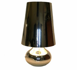Kartell Chrome Finish Cindy Table Lamp