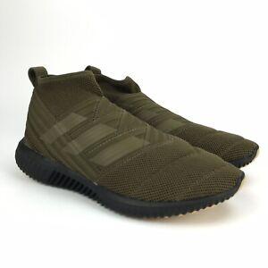 Adidas Men's Nemeziz Mid TR Olive Green Sneakers Size 8.5