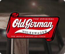 Old German Volkswagen sticker decal aircooled beetle bus rabitt splitscreen